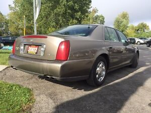 2002 Cadillac DeVille Htd Fr Row Lthr Sts-Pwr Drs/Wdws/Lcks/Mrrs London Ontario image 2