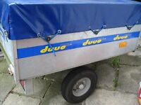 Duuo Trailer For Sale In very good condition would be suitable for camping or general use.