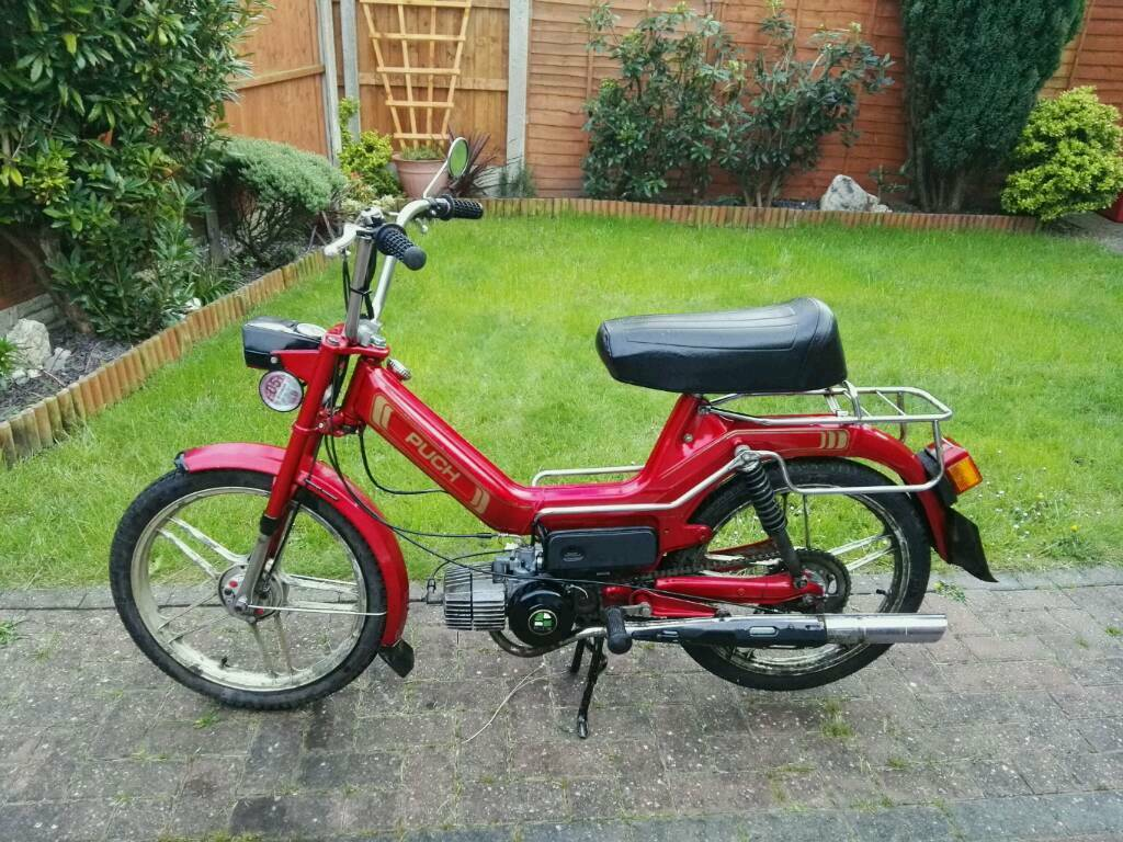 Puch Maxi Restoration Project In Wirral Merseyside