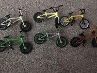 14 Flick Trix BMX bikes