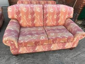 2 seater and armchair - sofa
