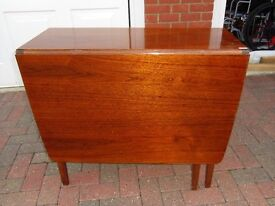 Dining Table - Small folding leaf table