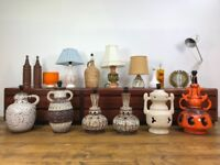 Large Selection of Retro Lamps - Vintage West German Desk Lamp Anglepoise G Plan Ercol