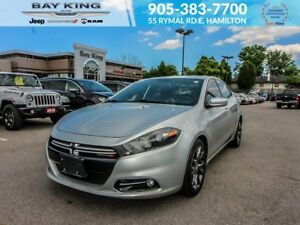 2013 Dodge Dart RALLYE, GPS NAV, BACKUP CAM, REMOTE START, BLUET