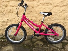 Ridgeback 16inch girls bicycle
