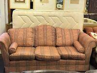 Pink Sofa - Good Condition