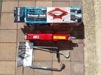 Streetwise 1.5 tonne heavy duty scissor jack
