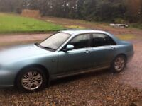 Rover 75 diesel for sale, runs like a dream still, too many small jobs needing done for me