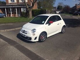 ABARTH 500 PART EXCHANGE WELCOME WITH ANY CAR OR VAN GOLF GTI GTD S3 M3 LEON FR 535D 335D