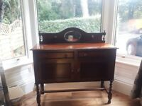 Solid Wood Jacobean Style Sideboard