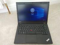 Lenovo ThinkPad T440p ( 4Th gen i5 2.6Ghz , 16 GB Ram , 240 SSD . 2 GB Graphics )