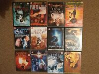 Martial arts dvd collection