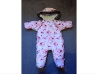 Ted Baker Baby Girl Snowsuit 0/3 Months