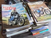 127 X CLASSIC MOTORCYCLE & CLASSIC BIKE MAGAZINE- VINTAGE ISSUES