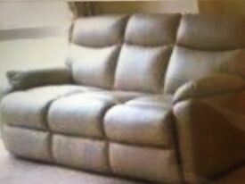 Leather Couch- £100