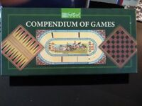Compendium of games – Draughts, Backgammon, and Horse Racing -£10