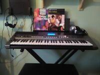 Yamaha PSR E443 Keyboard plus stand