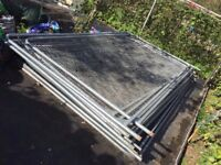Heras Temporary Fencing Panels - Site security