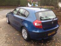 BMW 118d (122) Manual 2005 Diesel Blue 77538 Miles JUST VALETED VERY CLEAN