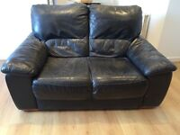 Leather Sofa For Sale - Good Condition