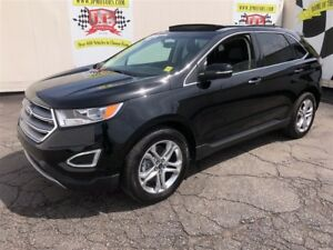 2017 Ford Edge Titanium, Navigation, Panoramic Sunroof, AWD