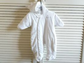 Baby Clothes Next Baby Padded Cosy Hooded Suit up to 3 month