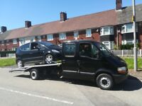 Recovery service from £30. We buy scrap cars