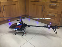 RC Nitro 50 class Knight 50 Helicopter