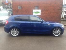 BMW 1 SERIES 116i M Sport 5dr (blue) 2005