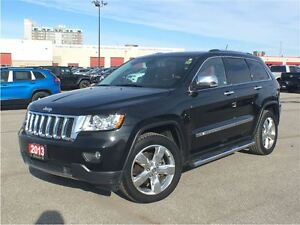 2013 Jeep Grand Cherokee OVERLAND**LEATHER**6.5 INCH TOUCHCREEN*