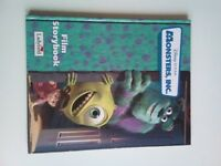 Disney pixar monsters Inc Hardback Book
