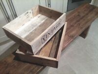 WOODEN CRATES TRAY STYLE