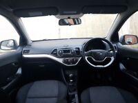 2012 (62) Kia Picanto 998cc; Free Road Tax! MOT Oct 2018; Comes with New Service and KIA Warranty