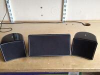 Jamo A102 Satellite Speakers Rear/Center Gloss Black
