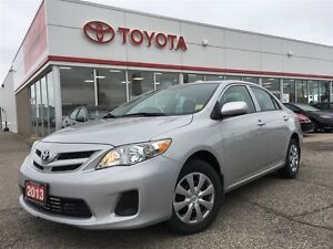 2013 Toyota Corolla CE with Heated Seats, Sunroof, Safety Certif