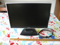 Emprex LM-1905 19in Widescreen LCD Monitor, built-in Speakers