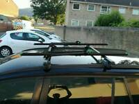 2 x Car roof bike carrier