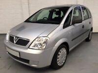 2005 Vauxhall Meriva 1.4 16V Life 5dr *** Full Years MOT ***