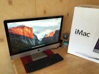 "Apple iMac 27"" 12GB Customised to Order quad core i7 2.93GHz processor"