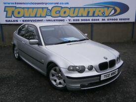 ***2003 BMW 3 Series SE COMPACT **MOT OCT 2018**IMMACULATE**( 316 318 320 golf lowered )