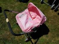 Childs Baby Born double pram
