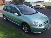 Peugeot 307 SW SE HDI 5 seat Estate Car in fabulous condition