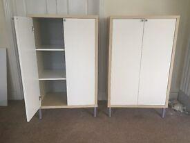 Cabinets - Beech Wood & Cream