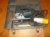 BOSCH GST 100 BCE CORDED WITH VARIABLE SPEED 110V-650W WORKING ORDER + CASE
