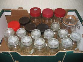 JAM/PICKLING/CHUTNEY JARS