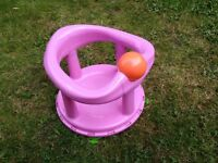 Swivel bath seat (pink)