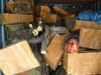 Firewood / logs Bulk load of mixed hardwood