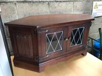 Old charm solid wood Tv cabinet FREE DELIVERY PLYMOUTH AREA