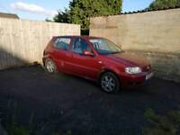 VW Polo 1.4 2001 5Dr Manual