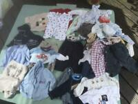Big bundle of 6-12 months boys clothes. Collection only.